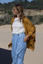Cape coton gold - Coton pima & modal