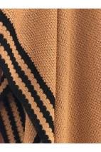 Poncho ajourée nude - alpaga & soie