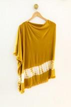 Poncho bambou gold - Bambou & cachemire