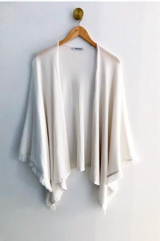 Cape coton blanc - Coton pima & modal