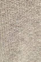 Gilet alpaga gris -100% baby alpaga