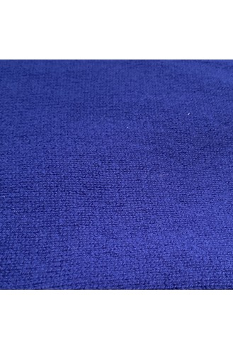 Poncho cachemire 4 ans - outremer - 100% cachemire - 2 fils