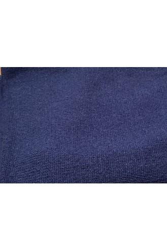 Poncho cachemire 4 ans - bleu de chine - 100% cachemire - 2 fils