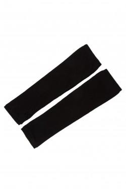 Mitaines cachemire noir - 100% cachemire - 2 fils