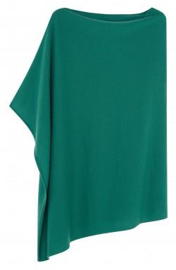 Poncho cachemire jade - 100% cachemire - 2 fils