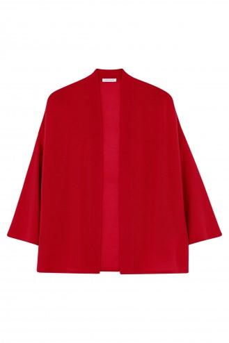 Gilet cachemire red hot - 100% cachemire - 2 fils