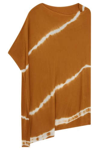 Poncho bambou cuivre - bambou & cachemire