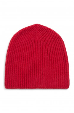 Bonnet cachemire red hot - 100% cachemire - 10 fils
