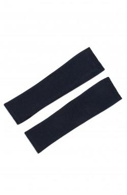 Mitaines cachemire bleu nuit - 100% cachemire - 2 fils
