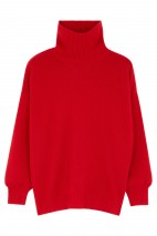 Pull cachemire red hot - 100% cachemire - 4 fils