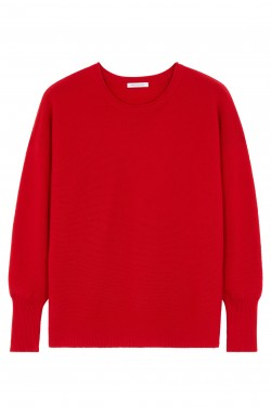 Pull cachemire red hot - 100% cachemire - 2 fils