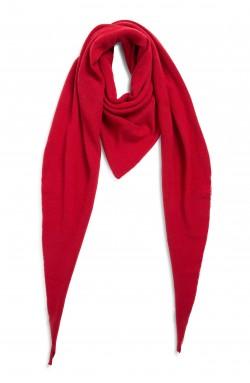 Echarpe cachemire - red hot - 100% cachemire - 2 fils