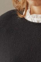 Cape cachemire écru - 50% cachemire - 50% laine - 2 fils