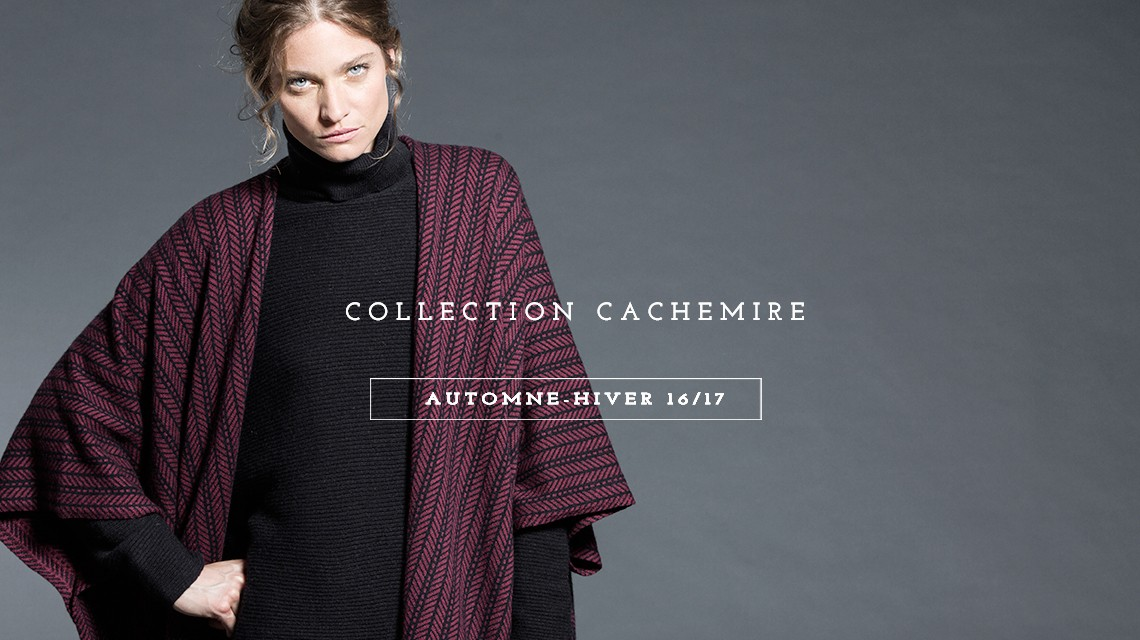 Collection Cachemire Automne-hiver 16 / 17